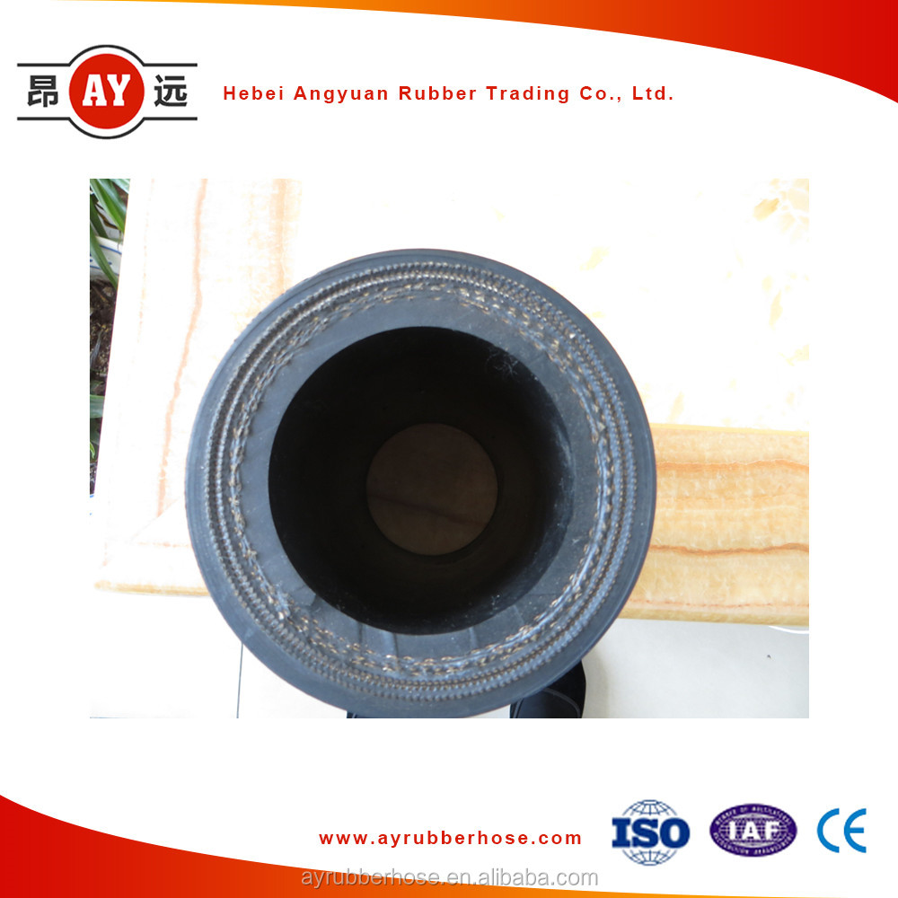 300 PSI black rubber compressed air hose