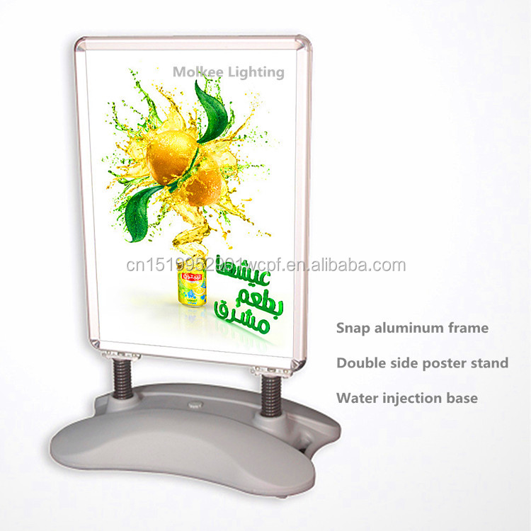 wholesale moving advertising waterbase pavement sign, DS aluminum <strong>frame</strong> stand sign