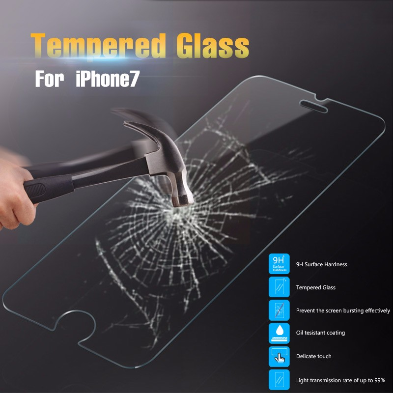 New Arrival 9H 2.5D Perfect Fit For Iphone 7 Tempered Glass Screen Protector