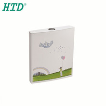 HTD-1207B Water saving wall mounted plastic storage dual flush water tank