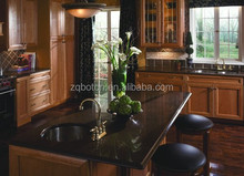 SGS approved brown quartz kichten countertop man-made stone vanity tops fauxs quartize table tops solid panel worktop