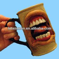 Custom Wholesale Unique Scary Ceramic Coffee Mugs