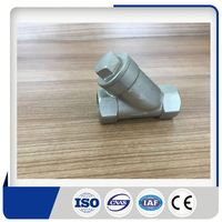 High quality low price ball valve with threaded ends y-strainer