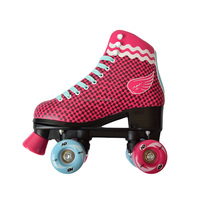 2016 new design high quality quad roller skates shoes for adults