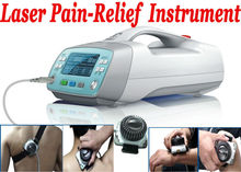 Cold laser Physical therapy instrument with 2 Probes for neuropathic pain, rheumatic, dysfunction, inflammation