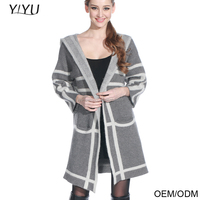 2016 fashion design beautiful thick knitwear cardigan manufacturers
