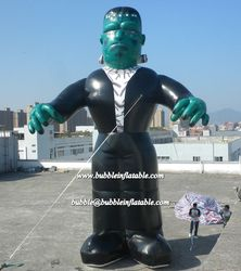 giant inflatable man/advertising hero character balloon made in China