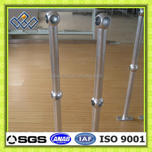 ball joint handrail stanchions/ball joint handrail posts