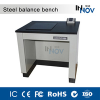 Vibration-proof laboratory furniture steel balance table bench