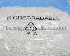 PLA polymer granules / Poly Lactic Acid resin , Biodegradable PLA resin