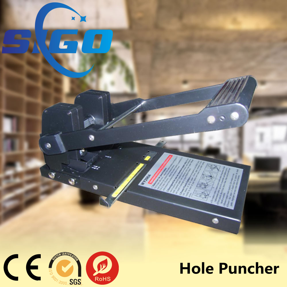 double hole punch machine/heavy duty paper puncher