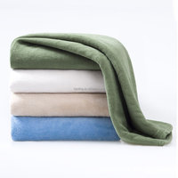 Wholesale Solid Color Polar Fleece Fabric Blanket