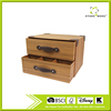 2 Layer Drawer Grain Storage Box With Leather Handle