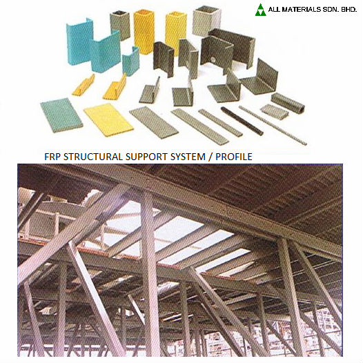 FRP Structural Support System / Profile
