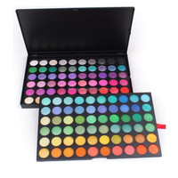 Nologo in stock make up cosmetics 120 eyeshadow palette packaging glitter eyeshadow