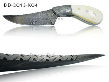 Damascus Steel Skinner Knife