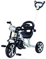 HOT SALE BABY TRICYCLE 2018 WITH SILICON WHEELS AND LIGHT CHILDREN TRICYCLE