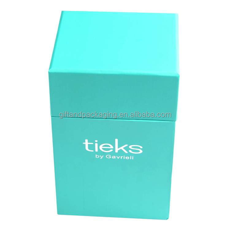 Multifunctional blue cosmetic packaging box made in China