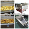 XCJ brush roller automatic electric vegetable and fruit peeling machine(industrial)