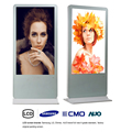 55 Inch Android foor standing for promotion lcd advertising monitor