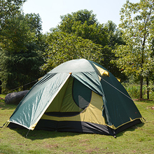 Hot Sale Outdoor Double Layer Trekking Camping Tent 3 Person