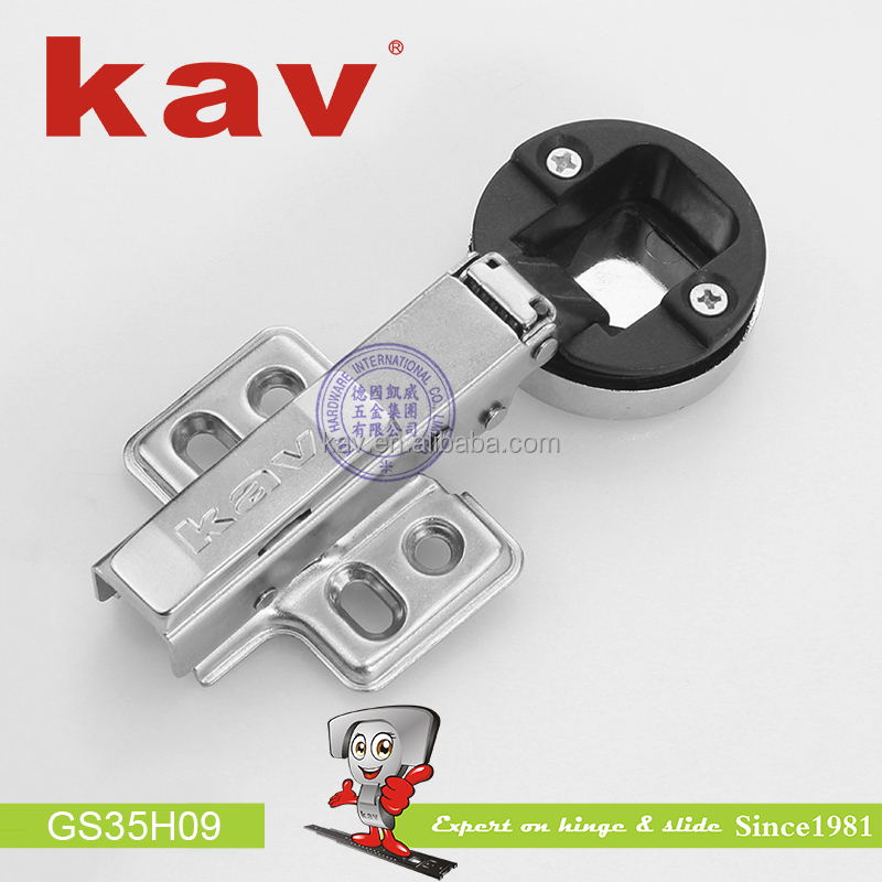 35mm hydraulic concealed hinge soft close hinge for glass door
