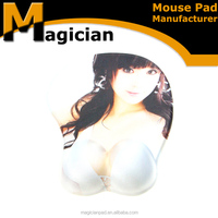 Heated 3d sexy girl breasts soft touch mouse pad, breast mouse pad nude girl full sexy