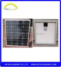 best price Monocrystalline material china solar panel 40W for camping