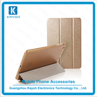 [kayoh] high quality pu leather case for iPad 2/3/4 flip case with stand function