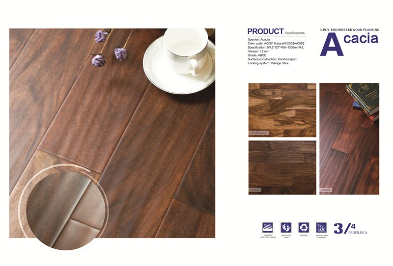 Hot sale high quality engineered hardwood flooring