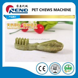 Jinan manufacture First Choice pet chewing treats food machines