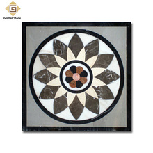 Factory supply beautiful hand-made marble stone inlay table top