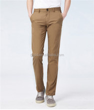 Make in China hot sale new model men pants khaki trousers