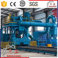 through type shot peening machine steel and iron slabs abrasive/sand/ grit blasting equipment price for sale