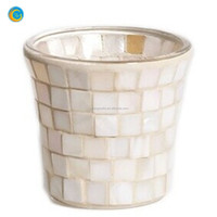 Candle Accessories - Mother of Pearl Votive Holder