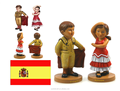 The Spanish bullfight dance custom resin bobble head bodies