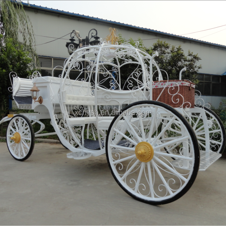 Horse Carriage Manufacturer/Used Cinderella Pumpkin Horse Carriage for Sale