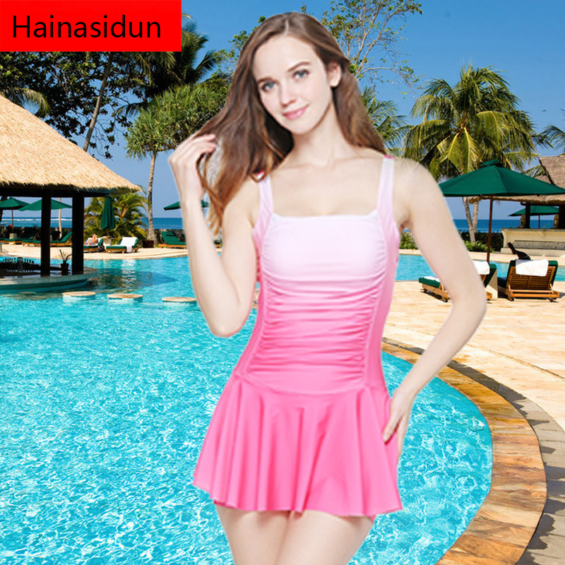 2016 wholesale high waisted one piece woman swimsuit