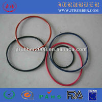 Flat silicone rubber o-ring