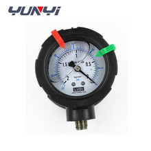 Double-sided PP diaphragm pressure gauge