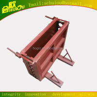 Steel building gypsum block mould made in China/ hot specialised Mould for building block/HUIOU