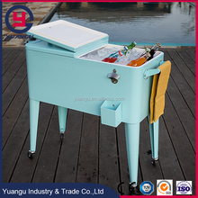 Ice Cream Color Party Table Cooler