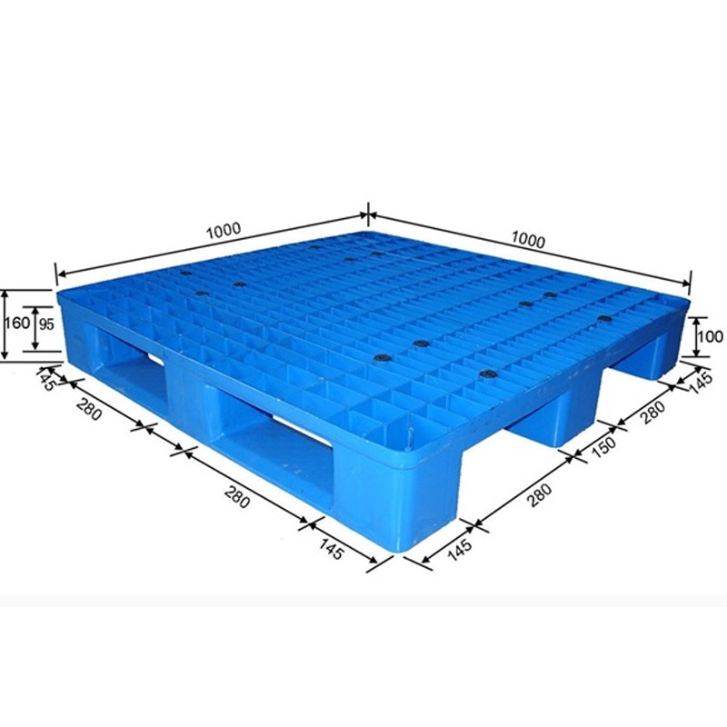 Mixed Recyclable blue plastic pallets manufacturer