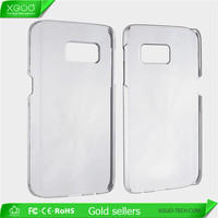 Good quality clear hard pc cover for Samsung Galaxy S7 case transparent