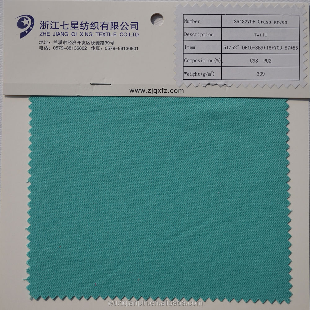Hot sale green 100% cotton 200TC twill bedding fabric