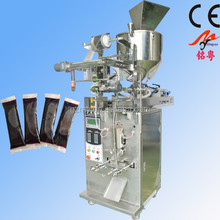 automatic piston pump liquid sauce filling packing machine
