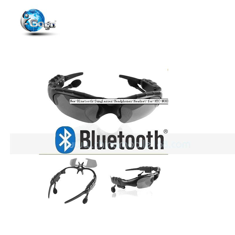 New Bluetooth Sunglasses Headphones Headset for HTC NOKIA Iphone 4s 4 Lumia 13