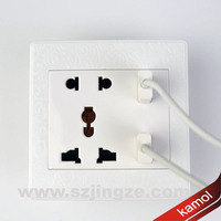 flame-retardant wall sticker outlet With Built-In USB Charger