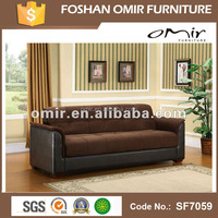 western style cheap king size futon sofa bed SF7059