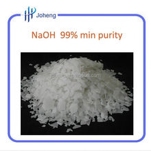 flake CAS 1310-73-2 99% mini purity sodium hydroxide